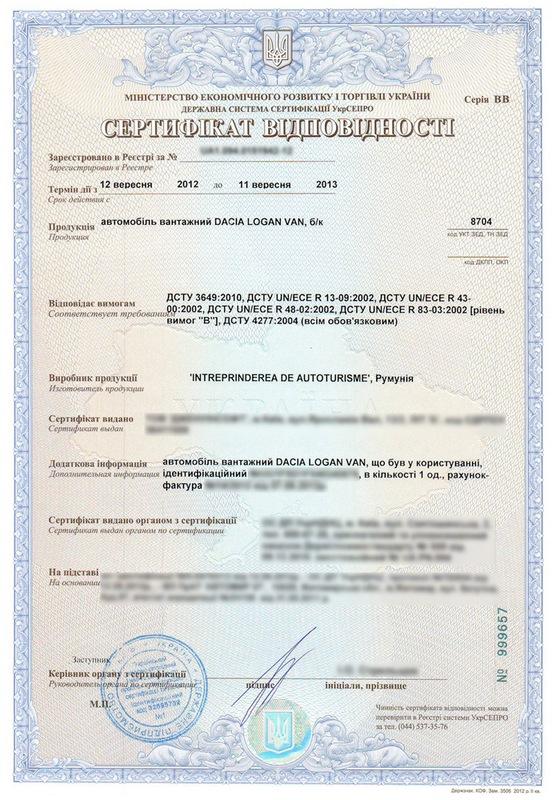 Когда требуется сертификация автомобиля сертификат соответствия гост р 51656-2002